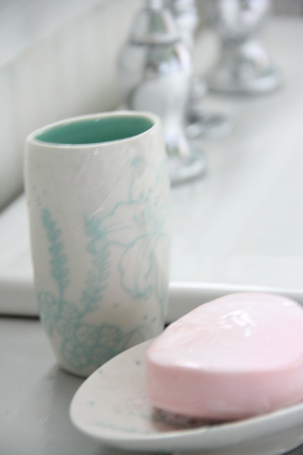 Cup and Soap Dish - Anthropologie