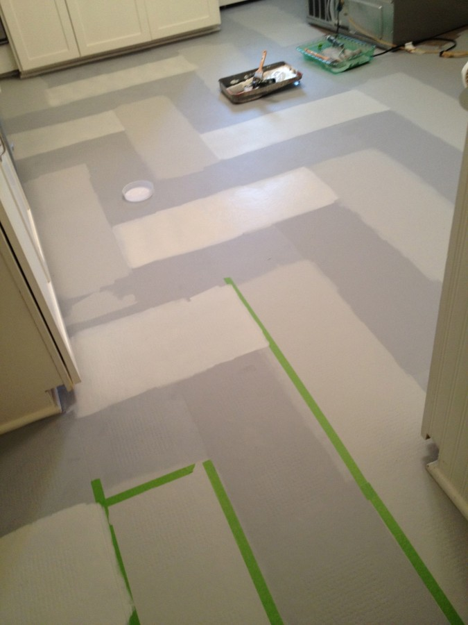 My old country house for Can you paint vinyl tile