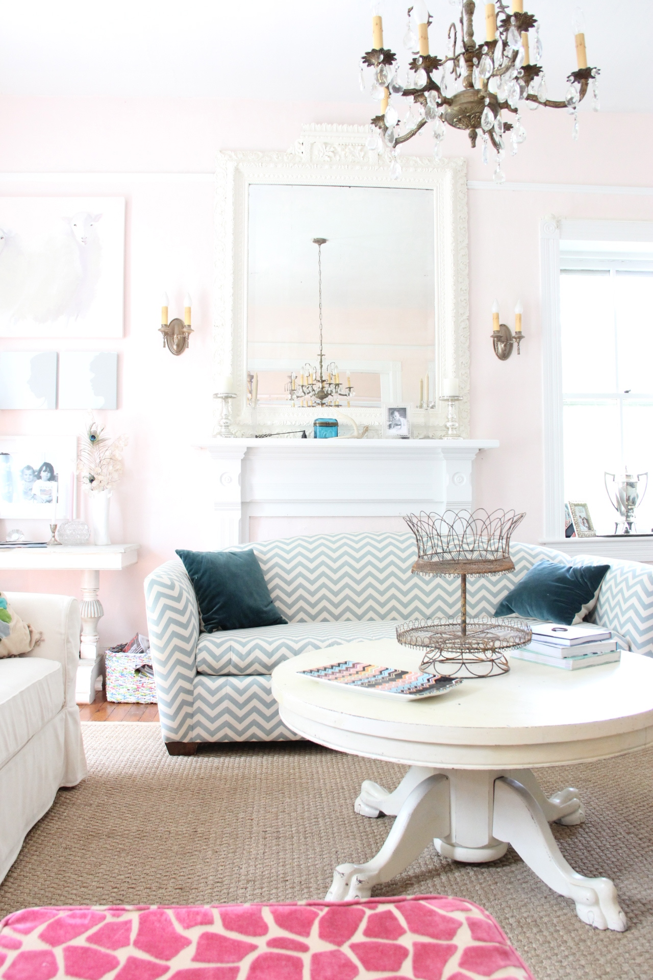 My favorite grown up wall pinks for Benjamin moore pristine