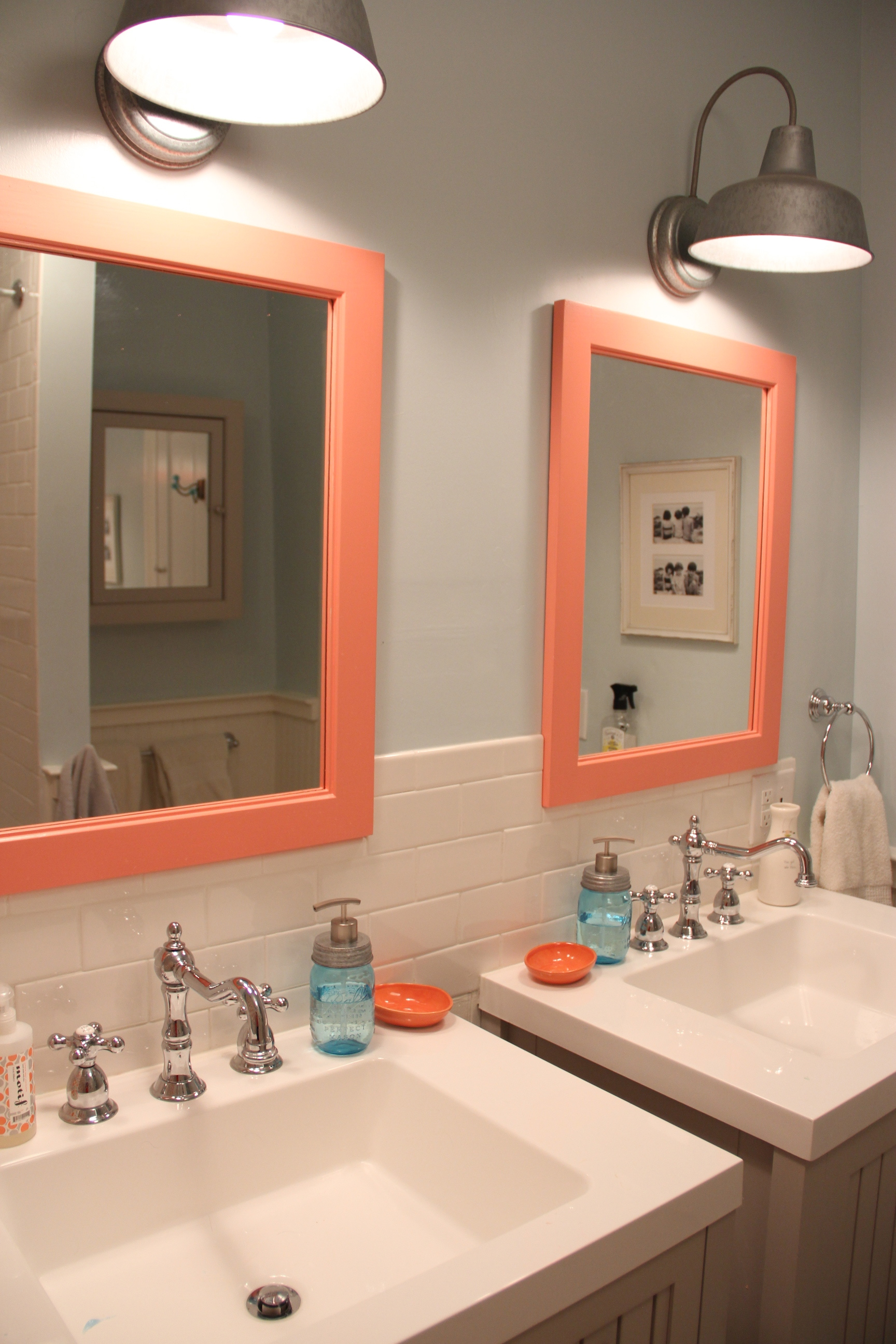 Luxury I love the Cottage Beadboard and the Greige Color uwhich lends a beachy feel to the bathroom u
