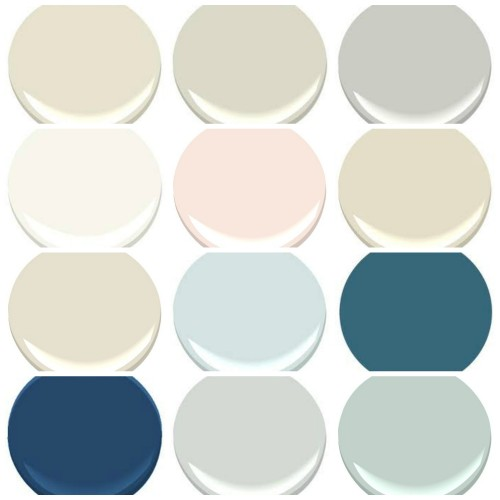 Stonington Gray Kitchen: THE PAINT COLORS OF MY OLD COUNTRY HOUSE