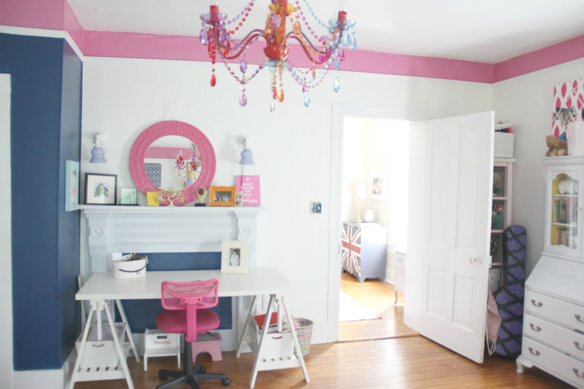 Navy And Pink Bedroom Navy And Pink Teen Girls Bedroom Revisited