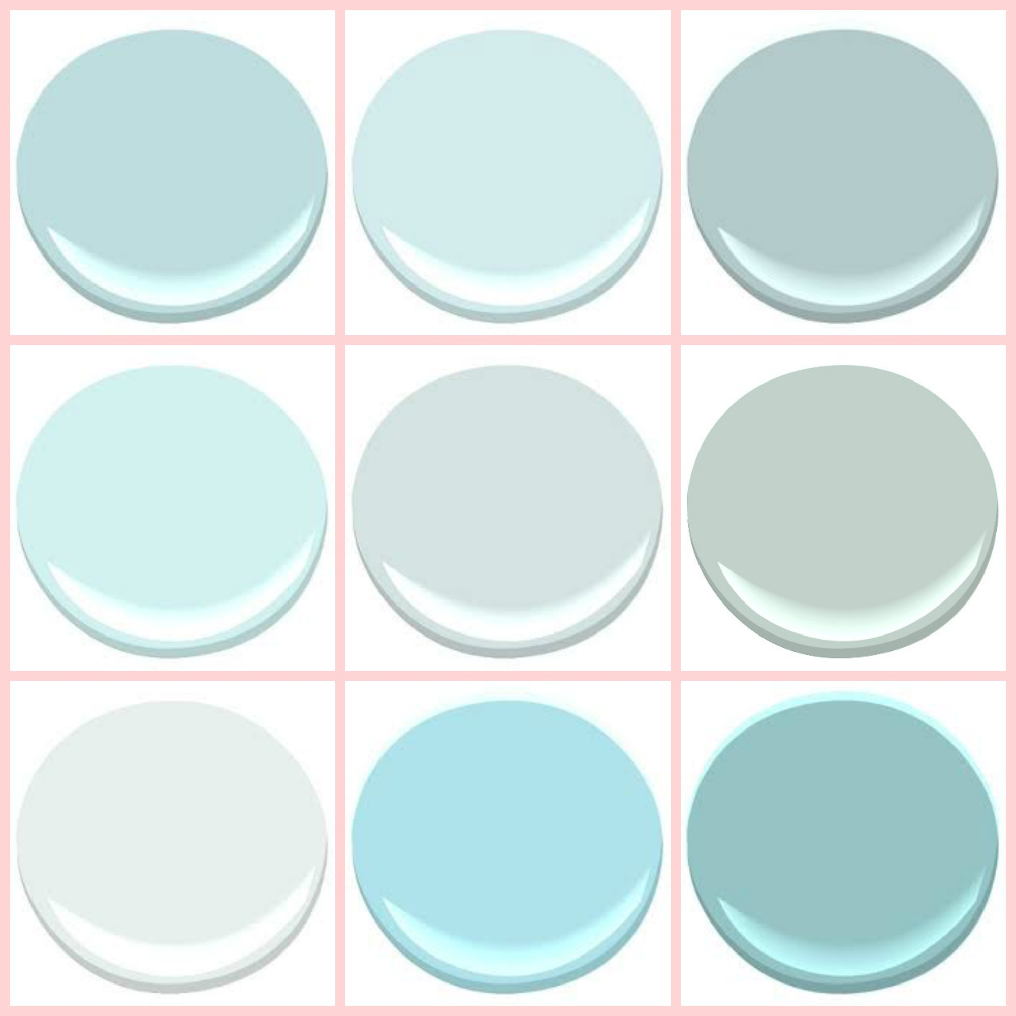 Benjamin moore tranquil blue guest blogger lesli from my old country