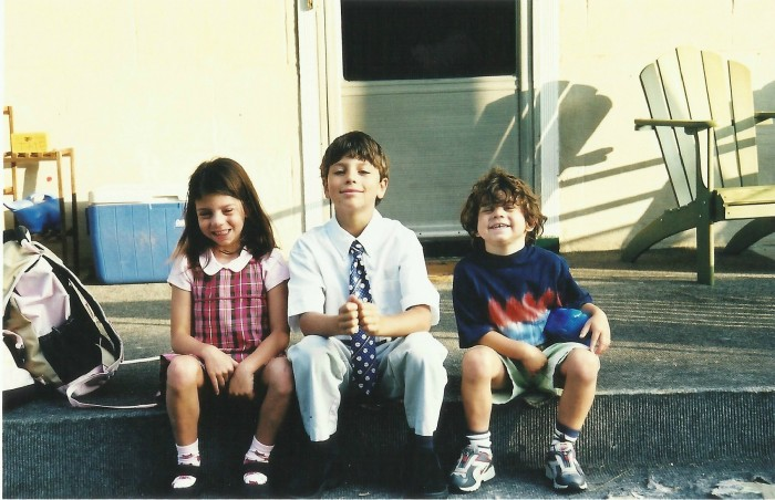 2004 - PHOEBE'S FIRST DAY OF FIRST GRADE