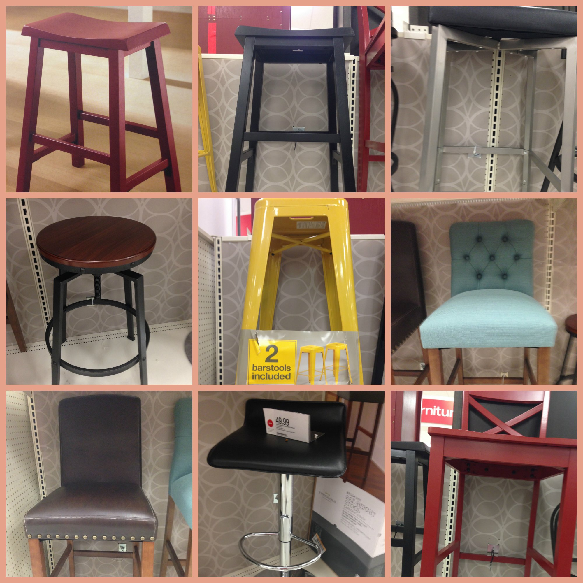 Tuesday Target Run Bar Stools