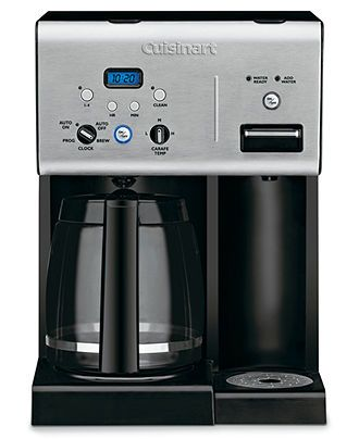 Cuisinart CHW-12 Coffee Plus 12-Cup Coffee maker and Hot Water System (Black/Stainless Steel)