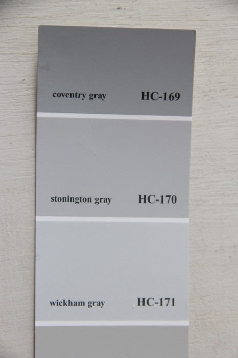 Favorite shades of gray my old country house for Stonington gray benjamin moore