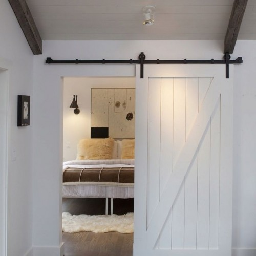 Monday Makeover Shut The Master Bathroom Barn Door My