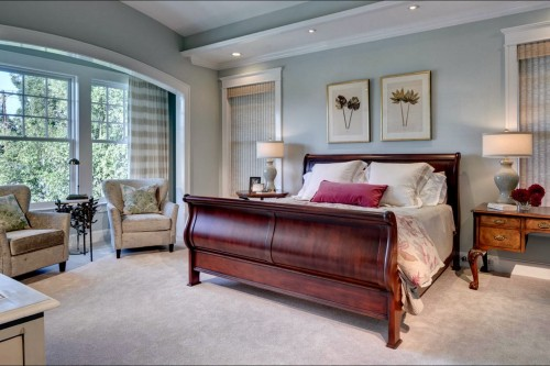 Monday makeover living room sea salt my old country for Master bedroom paint color ideas with dark furniture