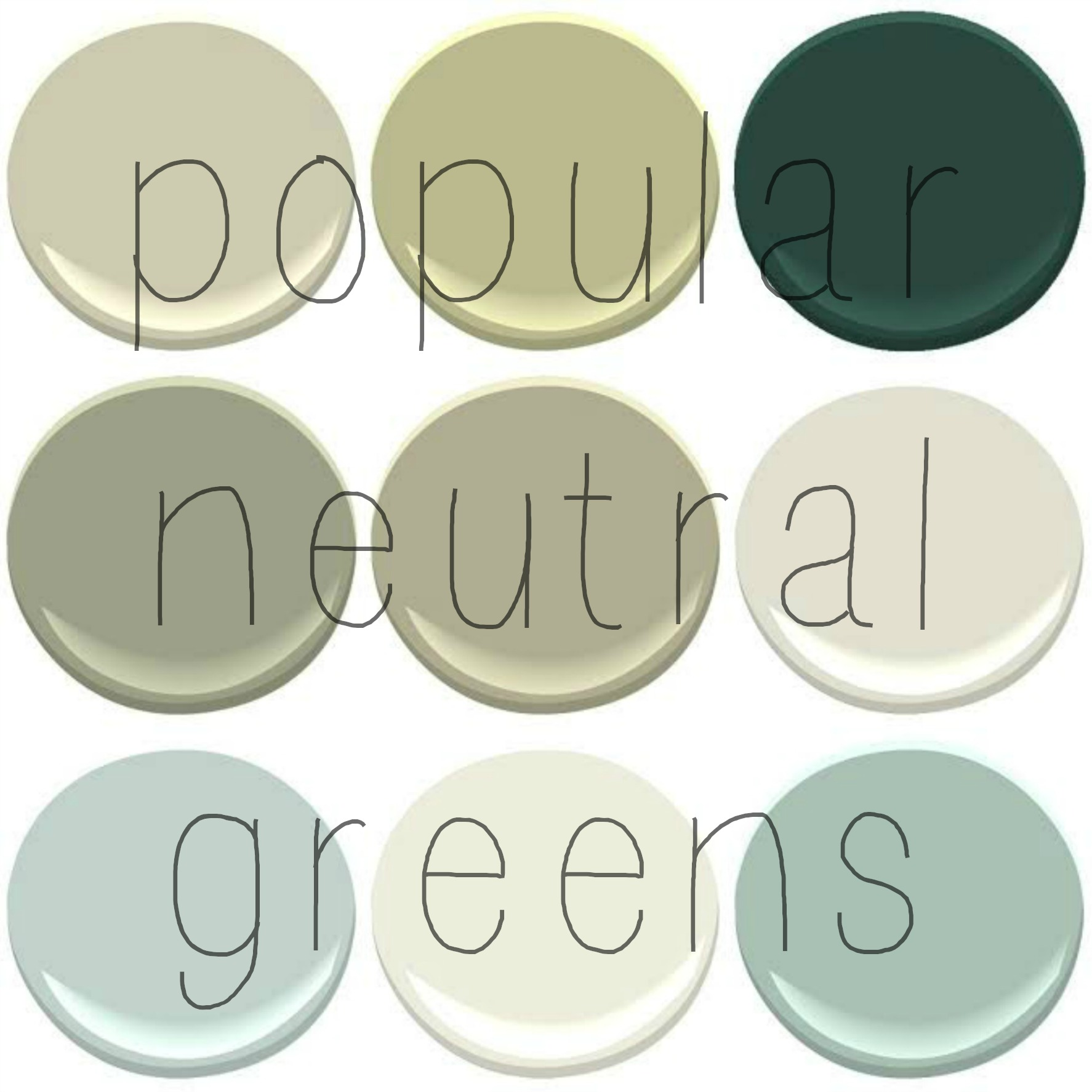 Going green part ii neutral greens my old country Benjamin moore country green