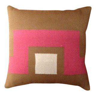 Jonathan Adler Geometric Wool Pillow