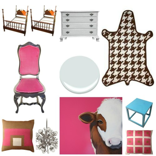 Chairishstyleboard1 500x500  CHAIRISH INSPIRED GIRLS ROOM