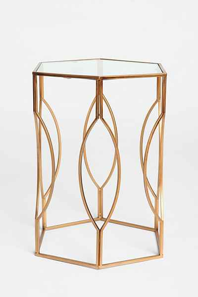 Hexagon Side Table ONLINE EXCLUSIVE