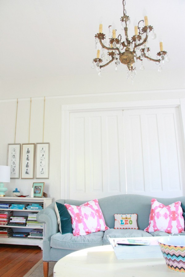"LIVING ROOM #2 MAKEOVER WITH BENJAMIN MOORE ""CLASSIC GRAY"""