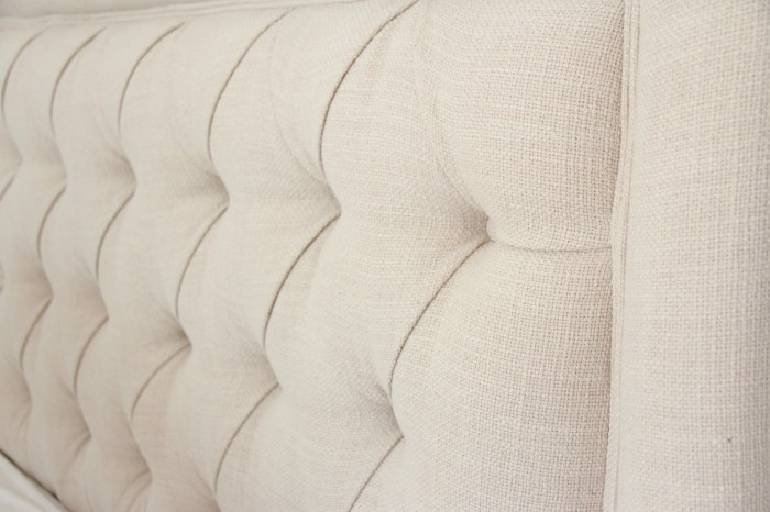 """Giselle Tufted headboard from BALLARD DESIGNS in Trilby Basketview""""natural"""""""