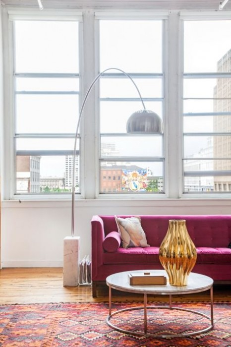 DESIGN SPONGE- ECLECTIC PHILADELPHIA LOFT - AN AMZING HOME...STARTING WITH THIS ROOM!!!