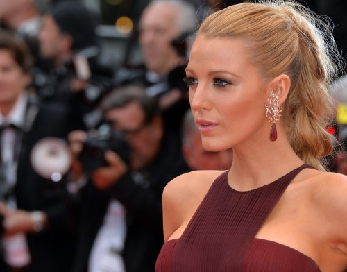 STUNNING - BLAKE LIVELY KILLING IT AT CANNES 2014 ..IN BURGUNDY