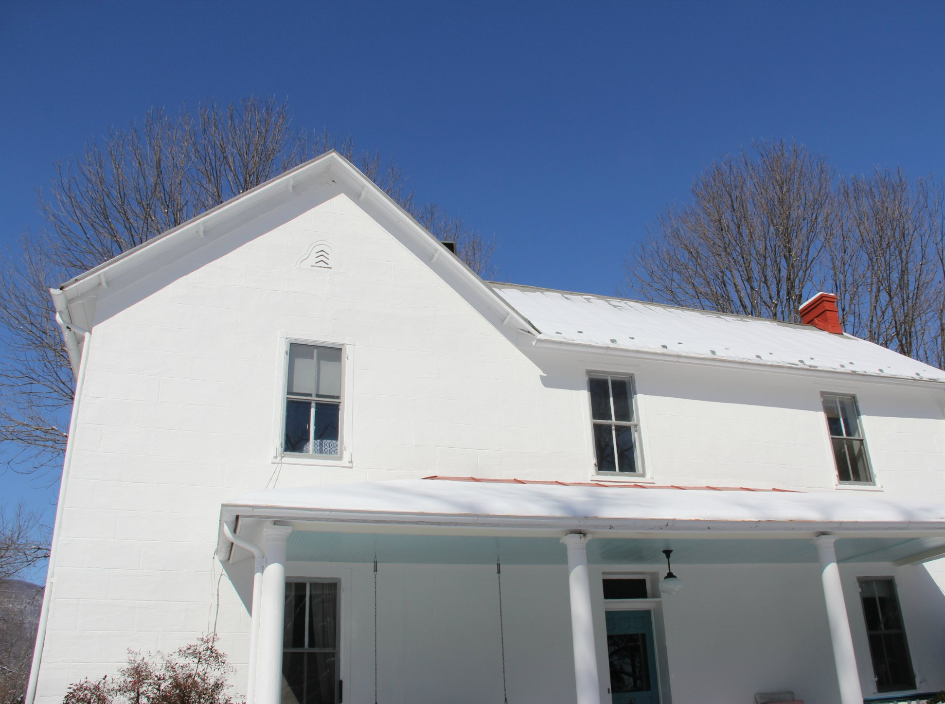 Cool whites and warm whites and understanding the difference - Benjamin moore white dove exterior ...