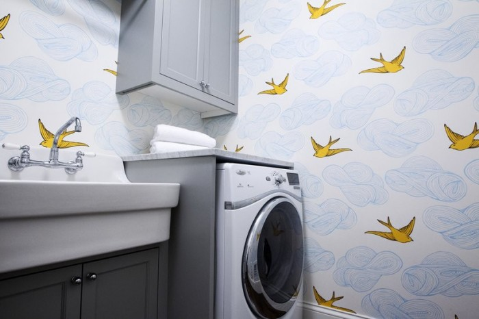 HYGEE AND WEST DAYDREAM SUNSHINE LAUNDRY ROOM