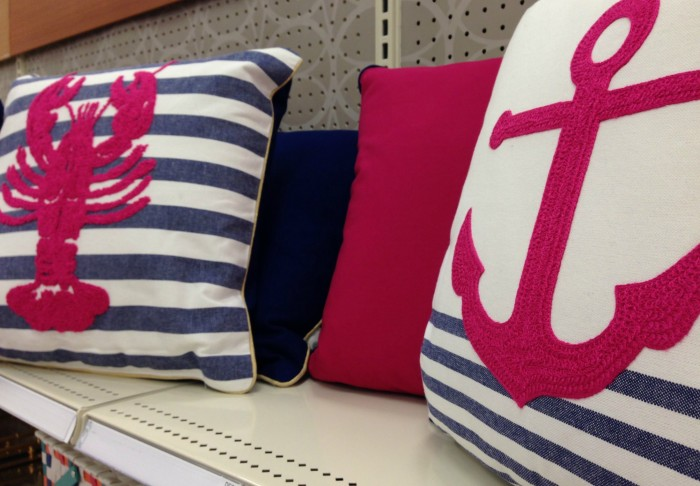 ANCHORS AND LOBSTERS AT TARGET
