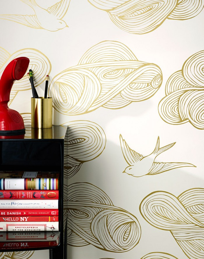 JULIA ROTHMAN DAYDREAM IN GOLD...THIS IS A CONTENDER FOR PHOEBE'S ROOM
