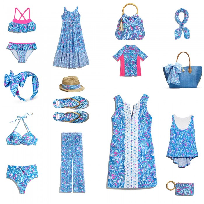 "LILLY PULITZER FOR TAGET - A SAMPLER FO ITEMS AVAILABLE IN THE ""MY FANS"" PATTERN! I LOVE THIS DRESS!"