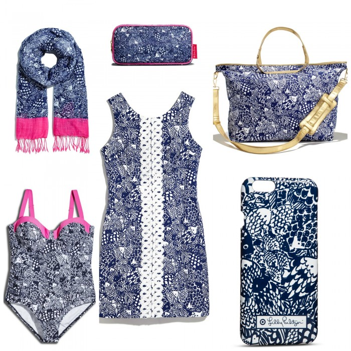 "NAVY AND PINK ARE MY FAVES - HERE ARE SOME OF THE ITEMS AVAILABLE IN THE LILLY FOR TARGET ""UPSTREAM: PATTERN!"