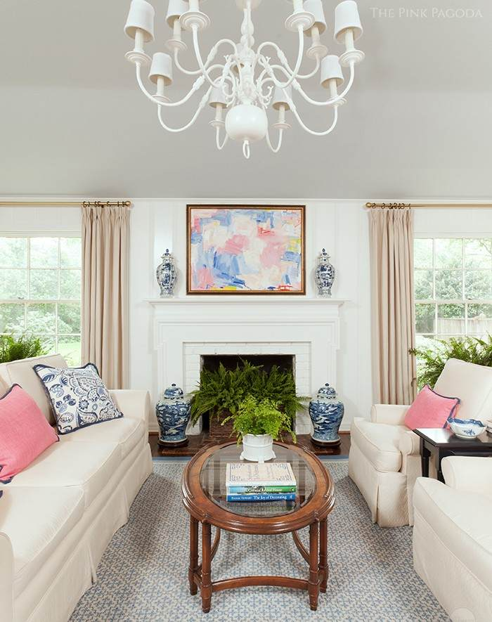 THE PINK PAGODA - LIVING ROOM MAKEOVER