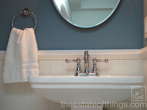 THE STATE OF THINGS - WINTER LAKE BATHROOM
