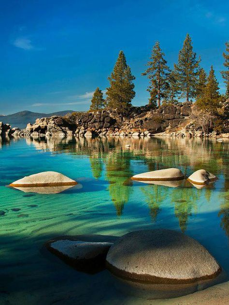 Sand Harbour in Lake Tahoe, Nevada