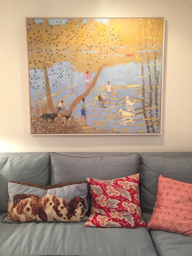 THE PAJAMA ROOM - I LOVE THIS PAINTING!!!