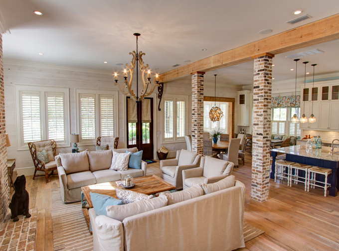 HOUSE OF TURQUOISE - BORGES BROOKS BUILDERS