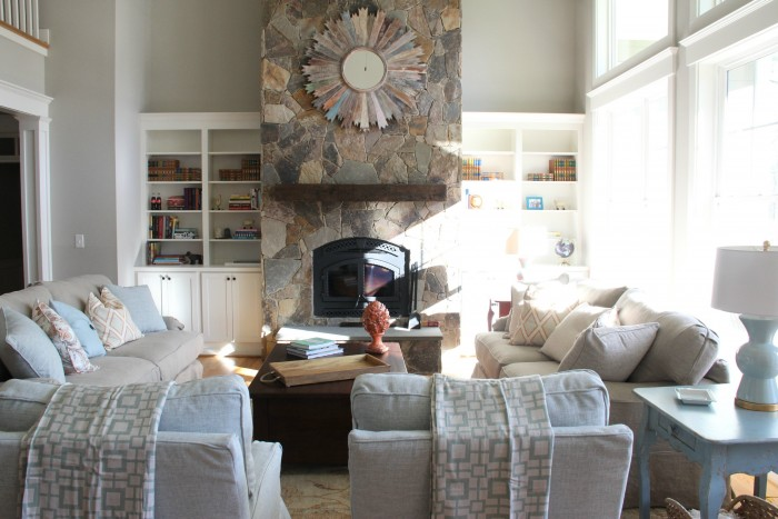 I LOVE BUILT INS - FILLING AND STYLING THESE WAS PURE JOY! I LEFT ROOM FOR THEIR COLLECTIONS TO GROW!