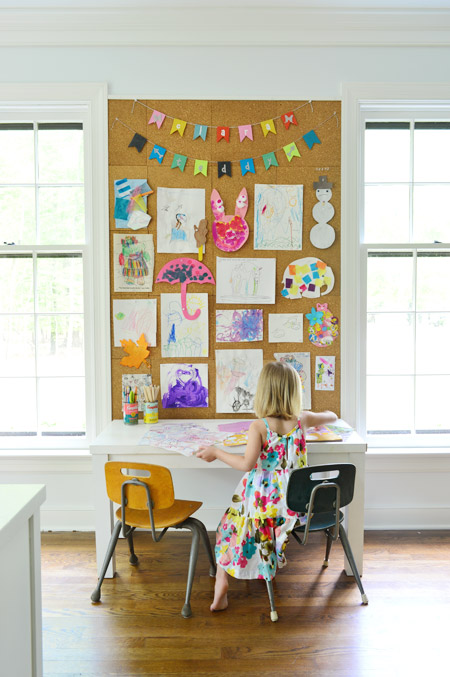 YOUNG HOUSE LOVE - CORK BOARD TUTORIAL