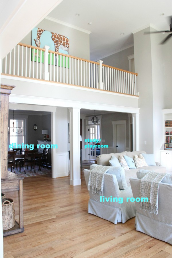 THE STUDY/PLAYROOM IS EASILY VISIBLE FROM THE KITCHEN AND LIVING ROOM...FOR SUPERVISION OF THE KIDS. THEY HAVE A GREAT PLAYROOM ON ANOTHER FLORR BUT THEY ARE STILL TOO YOUNG TO BE UNSUPERVISED.
