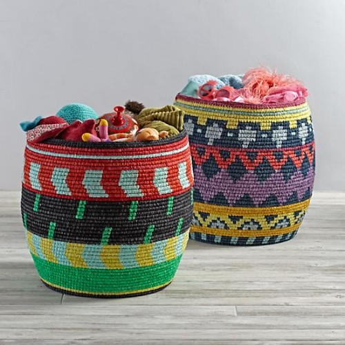 I WOULD HAVE LOVED THESE STORAGE BASKETS FROM LAND OF NOD!!!