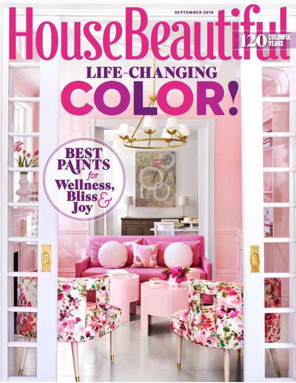 DO YOUR OWN THING - HOUSE BEAUTIFUL - KATIE UKROPS -AND PINK! –