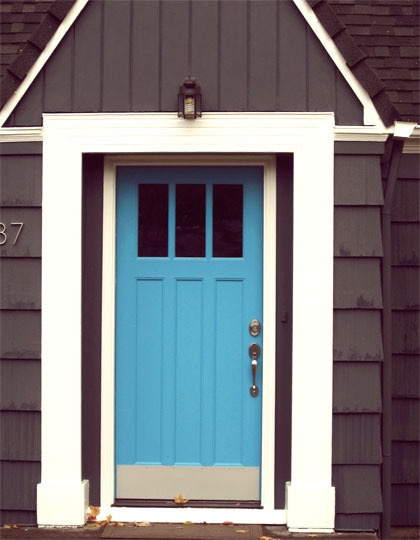 First Impressions Awesome Front Door Colors