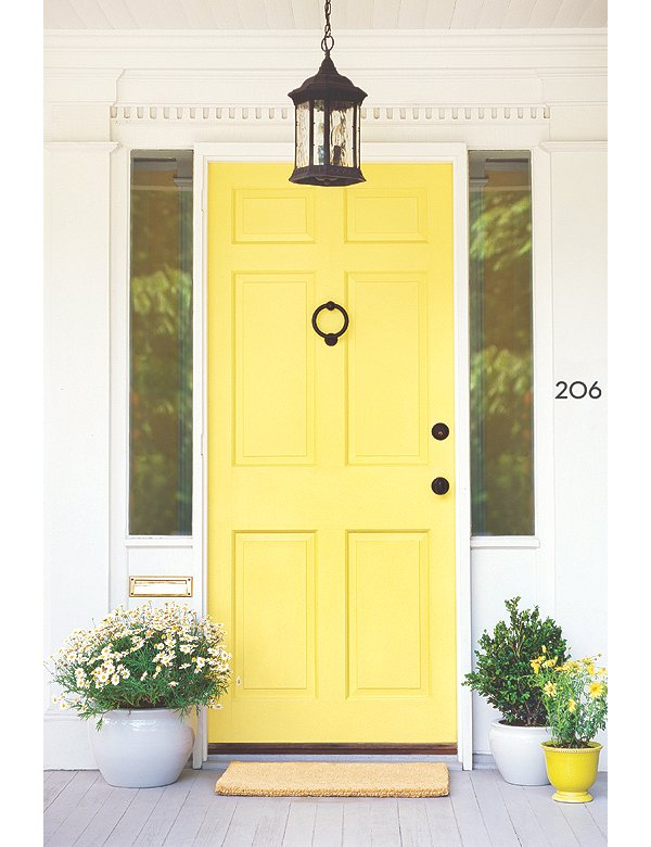 First impressions awesome front door colors - Front door color ideas ...