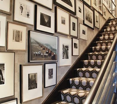 Martha Stewart - Gallery Wall