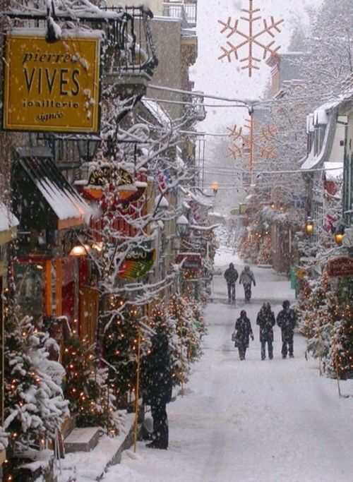christmas town..IF THIS IS A REAL PLACE...I WANT TO GO THERE..ESPECIALLY IF THERE IS REAL SNOW!!!