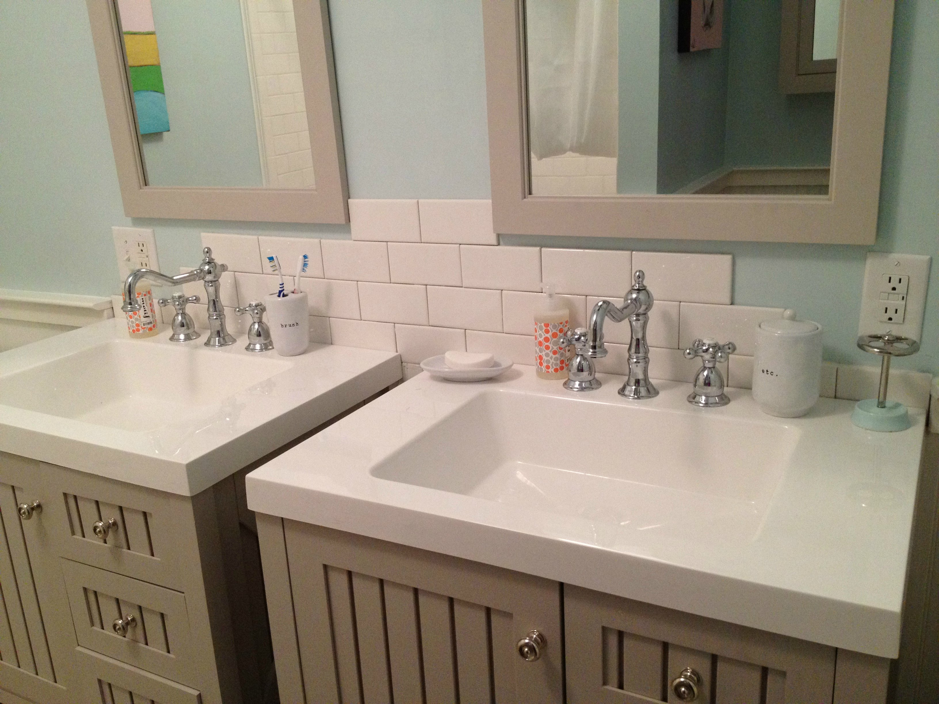 kids bathroom sink monday makeover 7 tips for turning a dresser into a 13347