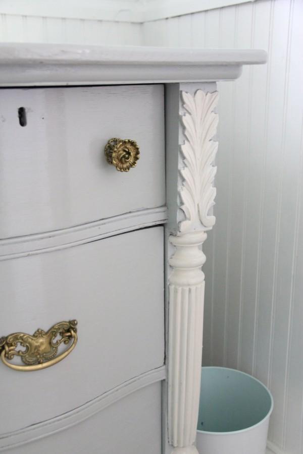 Detail work on Master Dresser