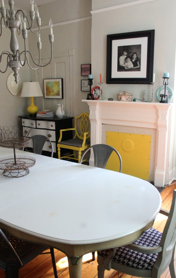 THE DINING ROOM - AFTER