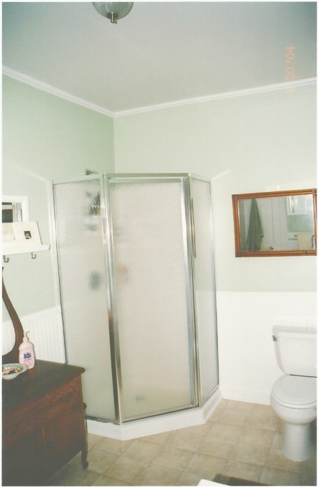 BEFORE - MASTER BATHROOM