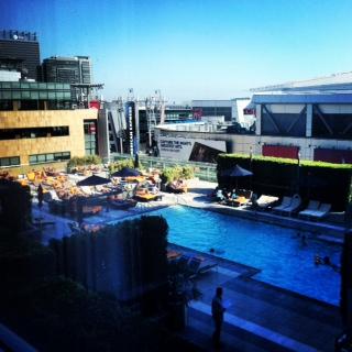 Rooftop Pool LA!