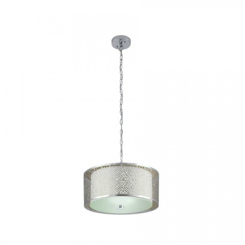 Portfolio 17-in W Chrome Pendant Light with Textured Shade $109.00/each