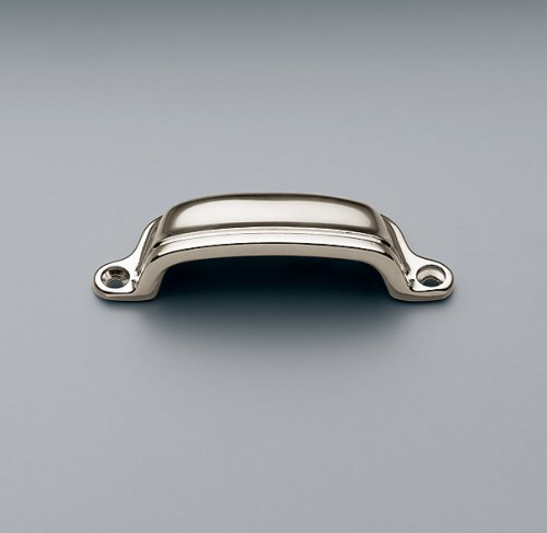 RESTORATION HARDWARE GILMORE PULL IN POLISHED NICKEL