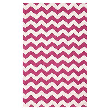 POTTERY BARN TEEN CHEVRON RUG - NOW ON SALE!