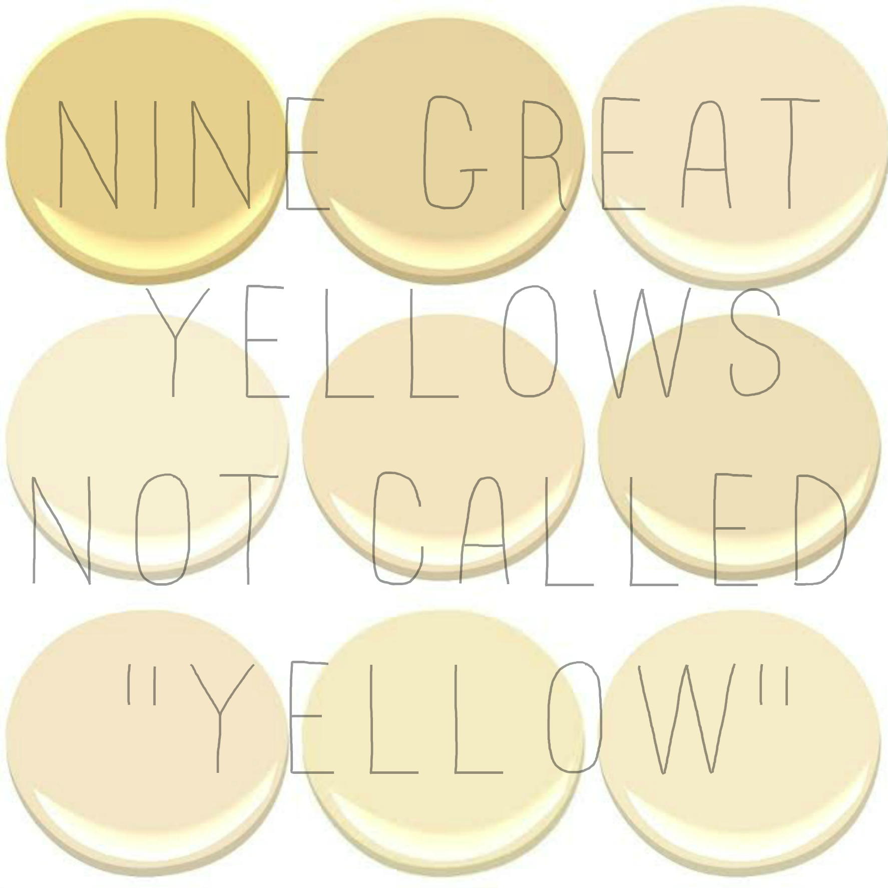 Yellow Mishaps And The Best Interior